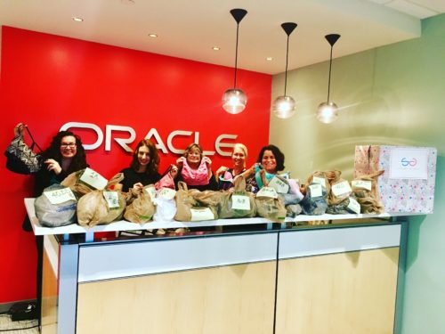 Oracle drive and donation of products