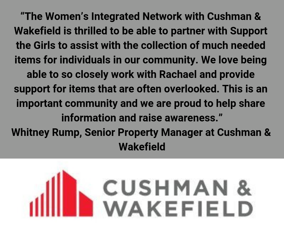 Cushman and Wakefield hosted an event to benefit I Support The Girls
